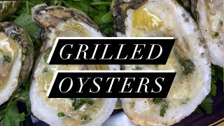 Easy Chargrilled Oysters Recipe