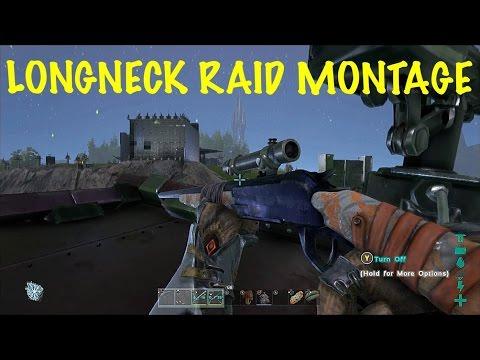 Ark: Survival Evolved Pvp Server (xbox One)   Longneck Rifle Raid Montage!