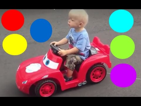 Learn Colors with FUNNIES TOYS SURPRISE  for Children - Colo