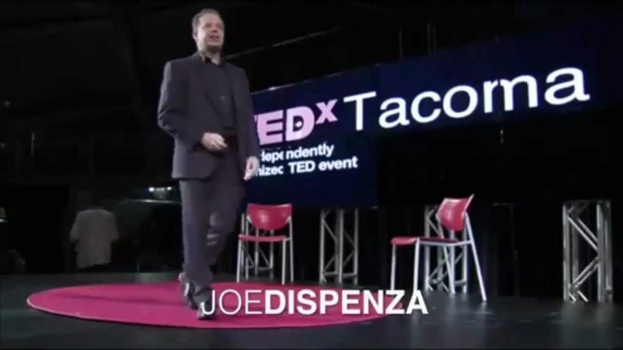 Dr Joe Dispenza- TED Talks with Dr Joe Dispenza
