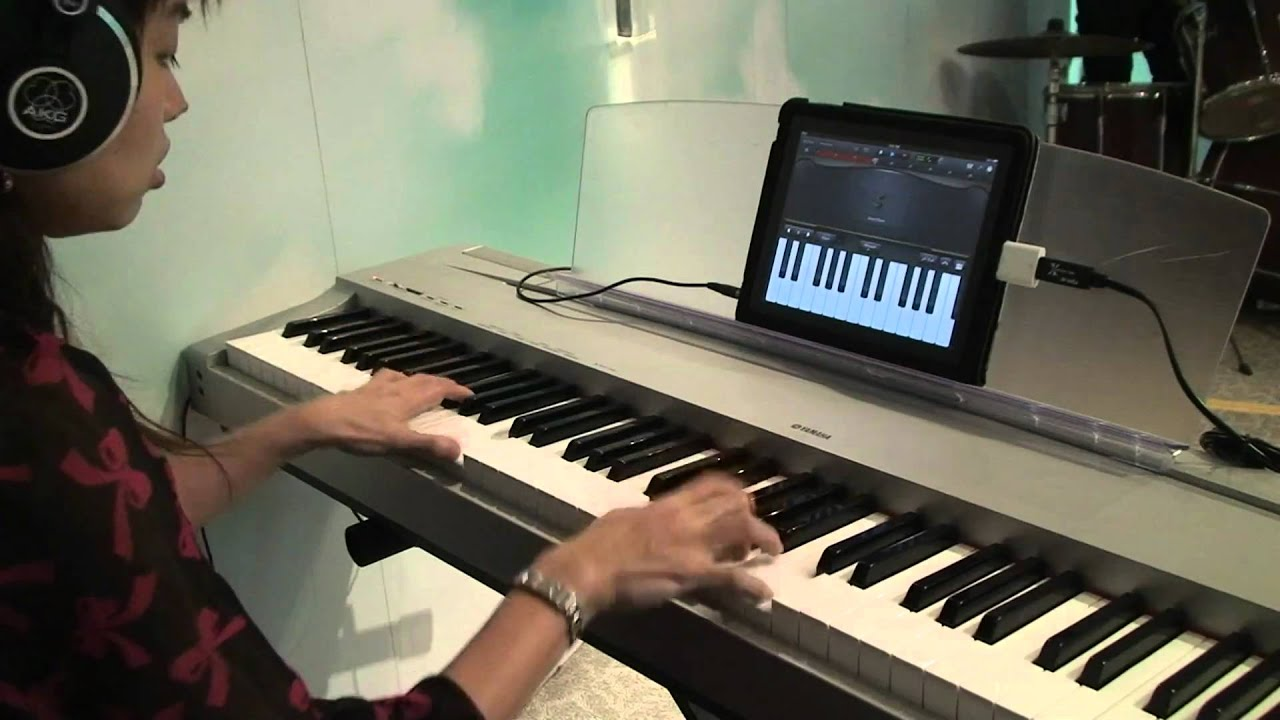 hymn amazing grace fast version recorded by garageband for ipad with a midi keyboard youtube. Black Bedroom Furniture Sets. Home Design Ideas