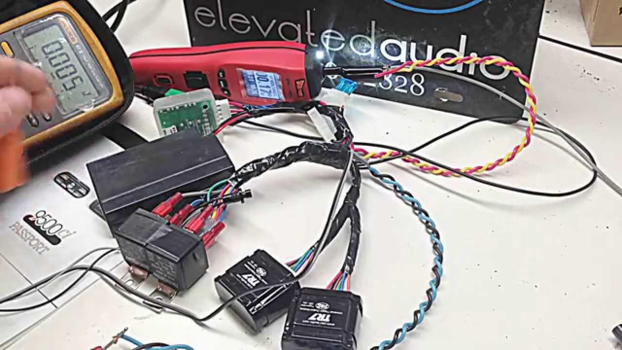 hight resolution of escort 9500ci check receiver wiring error fix on 2015 panamera turbo s