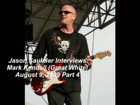 Mark Kendall Interview 2009 Great White