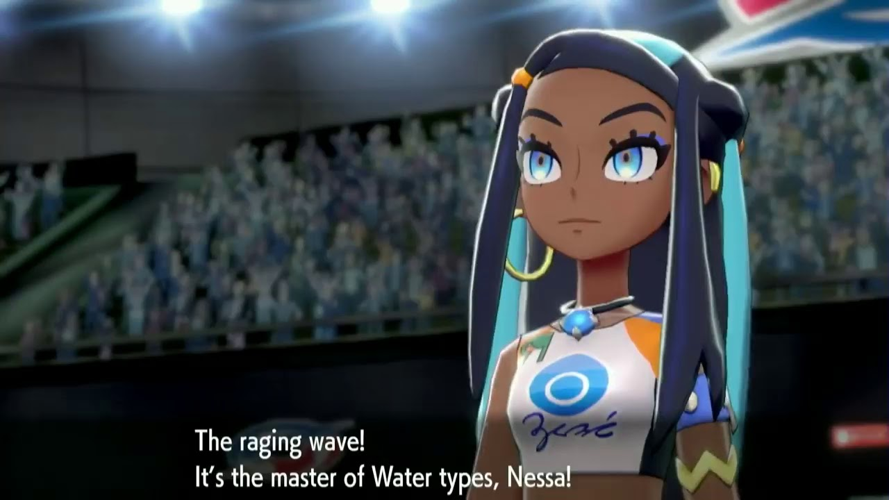 Nessa Water Type Galar Gym Leader Pokemon Sword Shield India