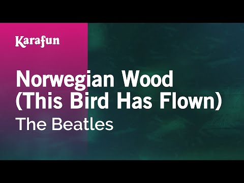 Karaoke Norwegian Wood - The Beatles *