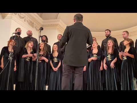 Баку, Филармония. Концерт Абхазской хоровой капеллы им. Гурама Курашвили