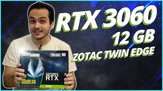RTX 3060 É O QUE DÁ PRA COMPRAR ? VEJA ESSA ZOTAC TWIN EDGE OC + OPINIÃO