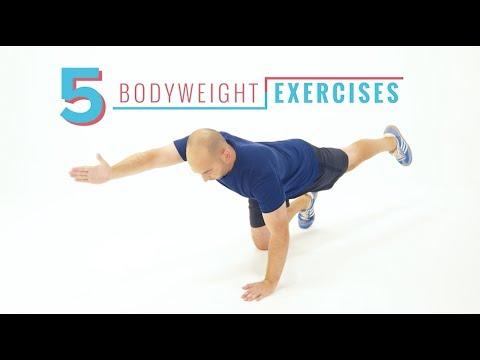 Equip Yourself: 5 Bodyweight Exercises