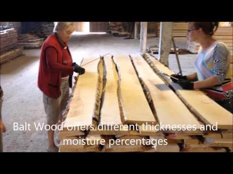 Balt Wood Enterprise manufacturing birch timber
