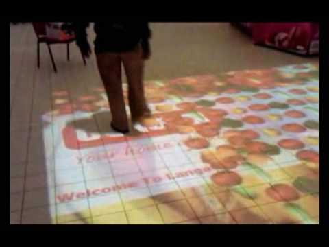 Ict Kenya Installation Of Touchmagix39s Interactive Floor