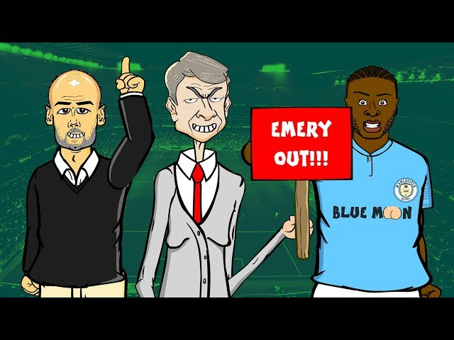 Arsenal 0-2 Manchester City ►  📺 GOGGLE IN THE BOX with 442oons 📺 ft. Sterling, Ozil, & Guardiola