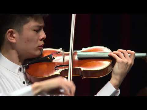 I-HAO CHENG / Menuhin Competition 2018, Senior first rounds - day 1