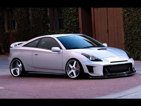 Virtual Tuning Toyota Celica 97 YouTube