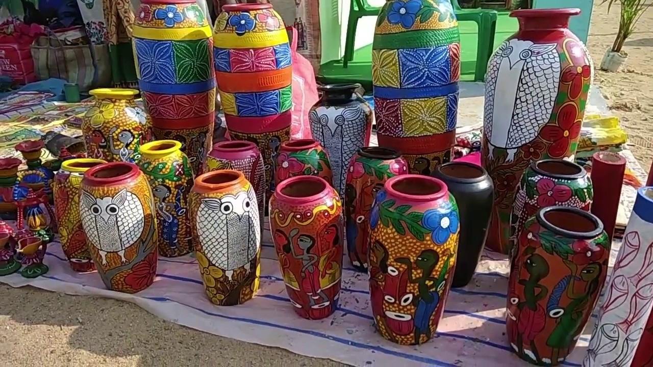 Hasta Shilpa Mela Eco Park Kolkata Handicraft Fair Rajarhat Youtube