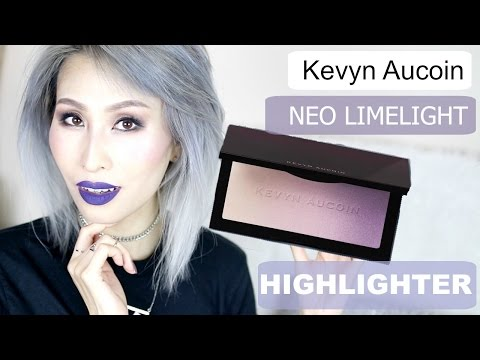 Kevyn Aucoin Neo Limelight Highlighter Ibiza First Impression & Swatches | FoodishBeauty