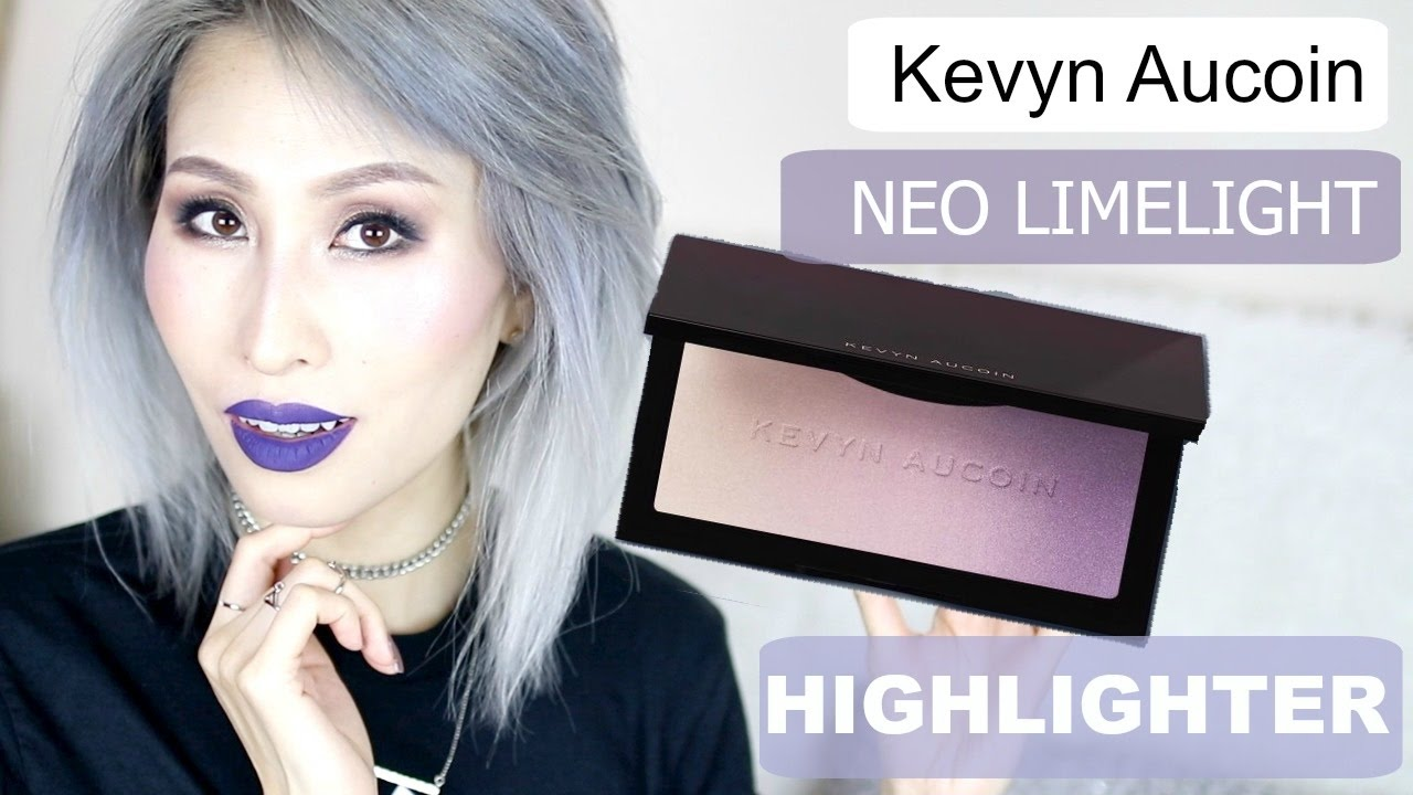Iluminador Kevyn Aucoin Kevyn Aucoin Neo Limelight Highlighter Ibiza First Impression Swatches Foodishbeauty