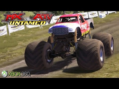 MX Vs. ATV Untamed  - Xbox 360 / Ps3 Gameplay (2007)