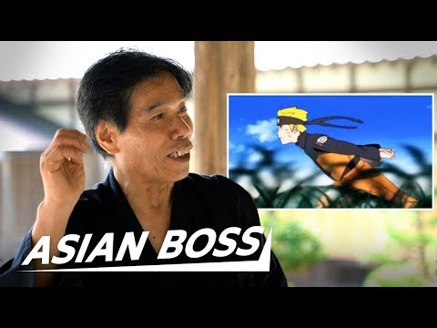 Real Life Ninja Reacts To Naruto | ASIAN BOSS