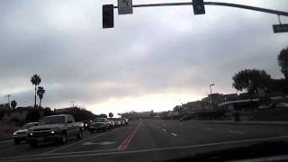My Early Morning Drive Along Plaza Blvd., National City, California