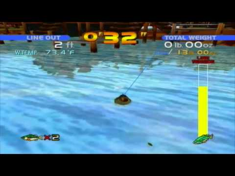 Sega Bass Fishing - Unbelievable Size Achievement Guide