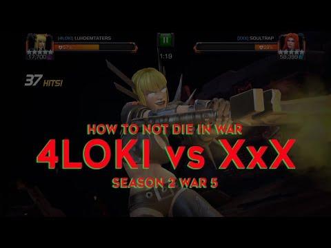 5/65 Magik vs. 5/65 MEDUSA BOSS! 4Loki vs XxX - Season 2 War 5 | Marvel Contest of Champions thumbnail