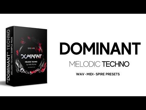 """DOMINANT"" Melodic Techno Samples Pack, MIDI, Presets | Ancore Sounds"