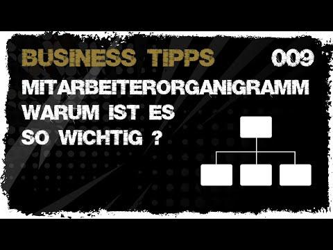 business tipps #009: Mitarbeiterorganigramm - Warum ist es so wichtig?