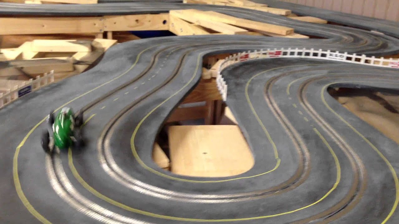 Building A 1960 S Style Routed Wooden Slot Car Track Part 10
