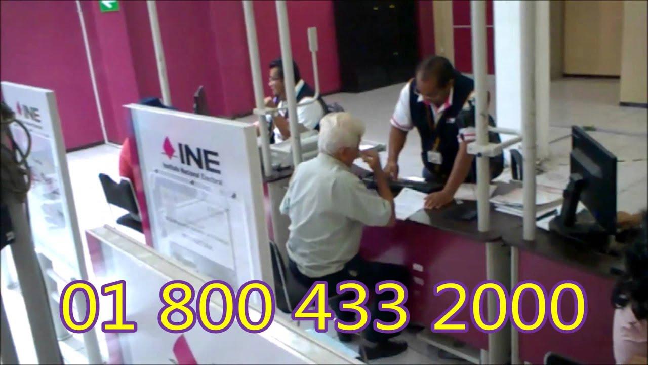 Nuevo Módulo Y Ampliación De Horario Para Sacar Credencial De Elector Ine