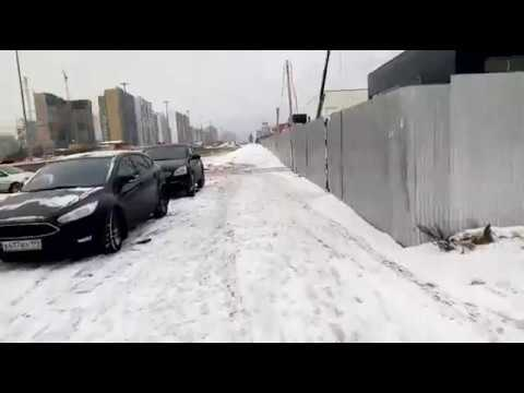 На моноколесе зимой! (KingSong 14D)