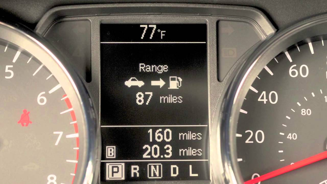 2012 Nissan Rogue Trip Computer And Trip Odometer Youtube