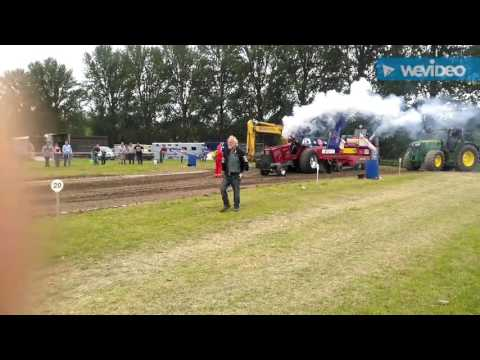 West Midlands county show 2016 Tractor Pulling