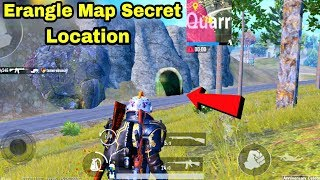 pUBG Mobile New Secret Location in Erangle Map || PUBG Mobile Top 4 Tips & Tricks