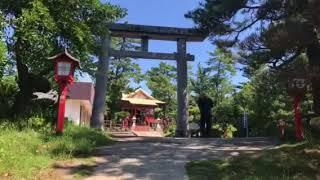 月読神社  桜島の縁結び神社 thumbnail