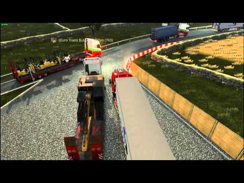 Euro Truck Simulator 2 Konvoys Euro Trans Bulgaria   Aberdeen   Amsterdam