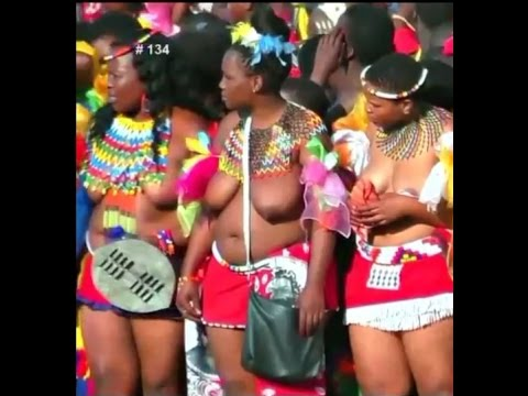 Reed Dance Ceremony African Recorded Dance Open 2016 p2