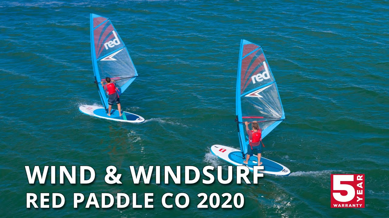 10 7 Wind 10 7 Windsurf 2020 Red Paddle Co Inflatable Paddle Boards Youtube