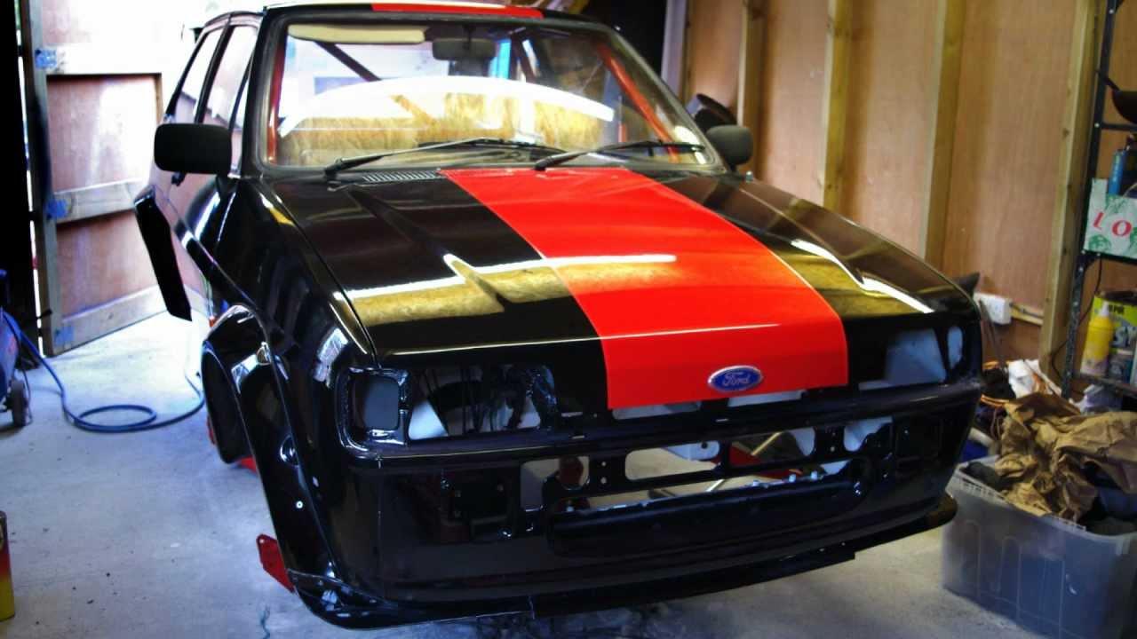 Ford Fiesta Mk2 Xr2 Project Update 3