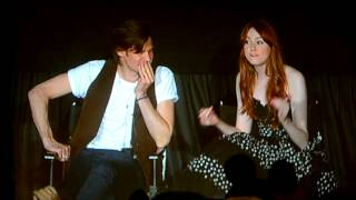 Is Arthur a Good Kisser?  -Asylum of the Daleks NYC Screening Q&A
