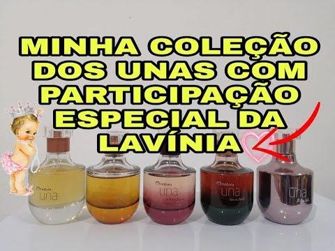 NATURA UNA - MINHA COLEÇÃO DOS UNAS, COM PARTICIPAÇÃO DA LAVÍNIA!!