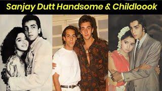 Sanjay Dutt Childhood Looks Photos|#Sanjay Dutt |#Sanjay Dutt/#Young Photos| Sanjay Old Pictures