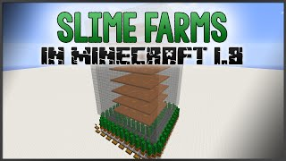 Minecraft - Slime Farms in 1.8+