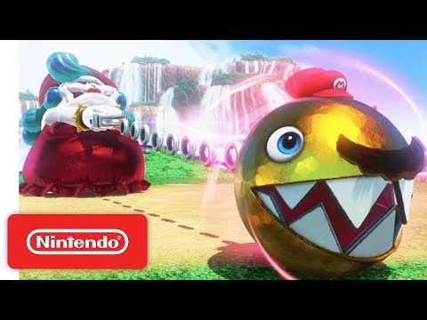 Super Mario Odyssey Trailer – Meet Cappy – Nintendo Switch