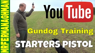 Dog Training Part 11 - Starting Pistol