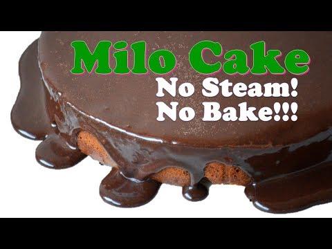 30 Pesos No Bake Milo Cake How To Make 3 Ingredient