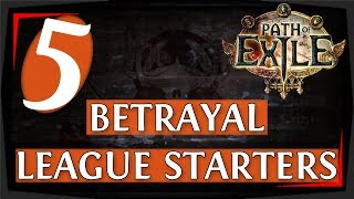 Gambar cover PoE Starter Builds For 3.5 Betrayal League (2019)