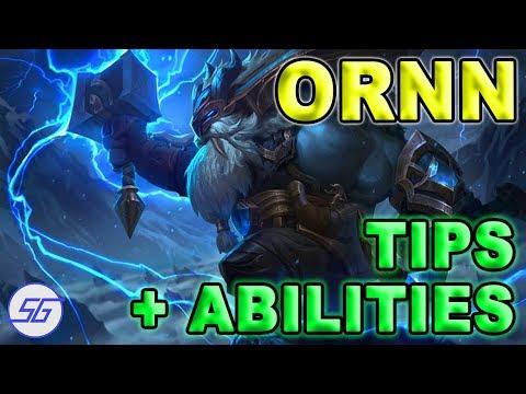 ORNN Talents Detailed + Ideas | League of Legends