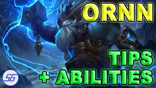 ORNN Abilities Detailed + Tips | League of Legends