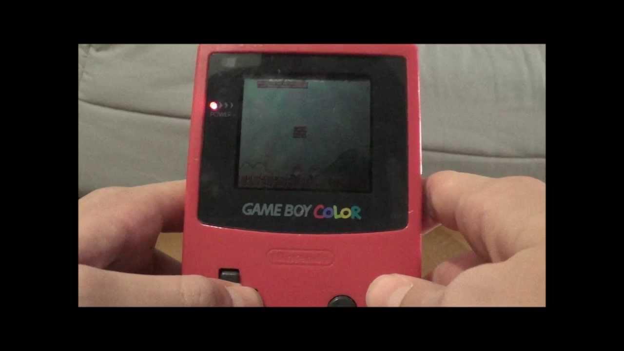 Super Mario Bros Deluxe Game Boy Color Youtube