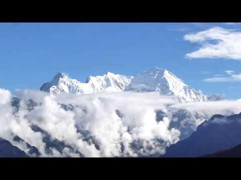 Langtang & Ganesh Himal on the way to Gosainkunda